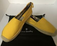 Vera Bradley Laceback Espadrilles Slip On Shoes Maize Size 9