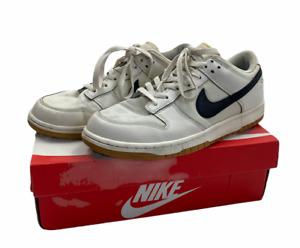 Nike SB Dunk Low Cream/Black Canvas   UK9