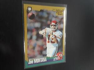 Joe Montana 1994 Score Gold Zone #67 Kansas City Chiefs M23