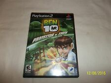 Ben 10: Protector of Earth (Sony PlayStation 2, 2007)(Complete)