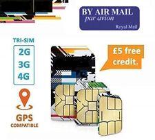 4G Prepaid UK SIM Karte | Mit £5 Guthaben beim 1. Aufladung. Anonym verwendbar