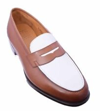 Edward Green Round Leather Upper Formal Shoes for Men