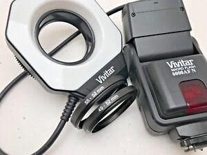 Vivitar Macro Flash 6000AF ringflash for Nikon