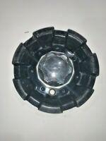 Sacchi Wheels Black/Chrome Custom Wheel Center Hub Caps C10235 C10225 Center Cap