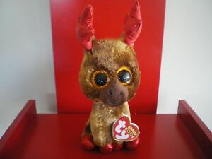Ty Beanie Boos MAPLE 6 inch MOOSE NWMT. CANADA EXCLUSIVE.