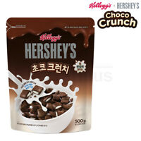 Kellogg's Hershey's New Choco Crunch Cereal 17.6 oz. 500g Breakfast Cereal