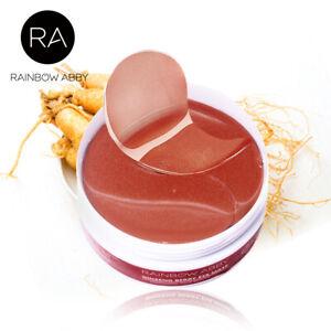 Eye Mask Under Eye Gel Pad Patch For Dark Circles Eye Bags Reducing Repair Red