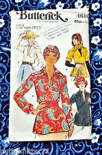 Butterick sewing pattern - Woman's blouse & scarf - size 8 - 4616 - Used