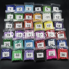 10 Packs 10400 Pcs Dental Orthodontics Elastic Ligature Ties 36 Colors For Chose