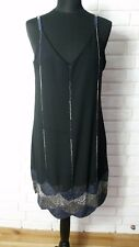 Maya Cami Scallop Hem Dress With Embellishment UK 12/ EU 40/ US 8 RRP £95