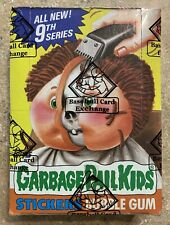 1987 Garbage Pail Kids 9th Series 48 Packs-NICE BBCE OS9 BOX w/ Poster! TWT