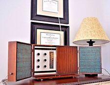 Original Ge General Electric T-1000 Stereo Mcm Vintage Am Fm Tube Radio - Works!