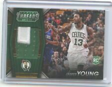 2014-15 THREADS #15 JAMES YOUNG PATCH ROOKIE CARD RC SP #18/25, BOSTON CELTICS