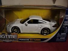 Jada Porsche 911 Turbo  1/24 scale NIB  2011 release white exterior