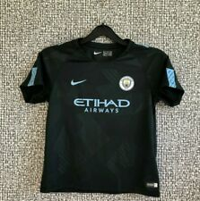 Manchester City FC Football Shirt Soccer Jersey Nike Top Boys Size XL 7-8 Years