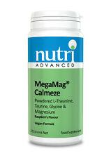 MegaMag Calmeze Raspberry - 270g Powder by Nutri Advanced - Vegan Multi Nutrient