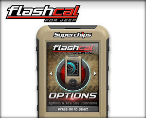New Superchips Flashcal F5 Programmer 3571 for 07-16 Jeep Wrangler JK
