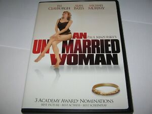 AN UNMARRIED WOMAN (1977) JILL CLAYBURGH ALAN BATES -RARE OFFICIAL R1 IMPORT DVD