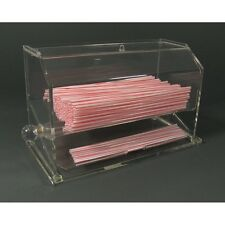 Acrylic Straw Dispenser - Fast Shipping!