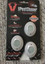 Victor M753As Sonic Mini Pestchaser Rodent Repellant , Card of 3