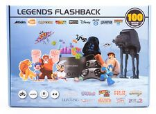 LEGENDS FLASHBACK 100 GAMES BUILT IN Game Console w/ 2 Controllers BRAND NEW