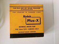 Vintage 1962 Kodak plus X reversal movie film 16 mm 100 ft never opened PXR 449