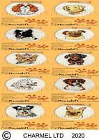 Mouseloft Stitchlets 'Paw Prints' Cross Stitch Kits - Choice of 12 Breeds of Dog