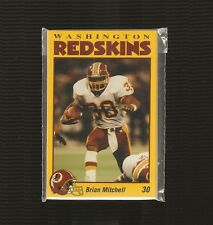 Lot of 150 1993 Washington Redskins Police Sets - Exc to Near Mt - 2400 cards