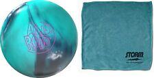 15lb Storm ALL-ROAD Hybrid Reactive Bowling Ball Carbon Teal & MicroFiber Towel