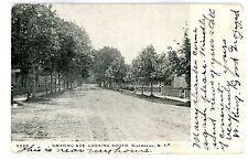 Riverhead LI NY - GRIFFING AVENUE LOOKING SOUTH - Postcard
