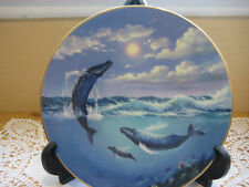 1991 Song Of The Humpback Whales Bradex Plate By Anthony Casay