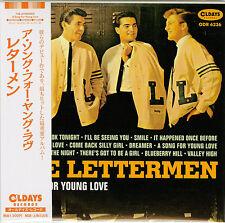 THE LETTERMEN-A SONG FOR YOUNG LOVE-JAPAN MINI LP CD BONUS TRACK C94