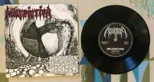 """Malediction 7"""" w PS Mould of an Industrial Horizon 1991 Death Metal VG+/M-"""