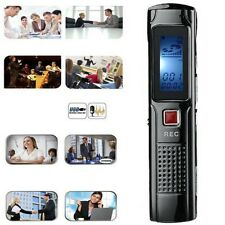 Mini Registratore Audio Portatile Digitale Usb Voice Recorder Voce Mp3 hsb