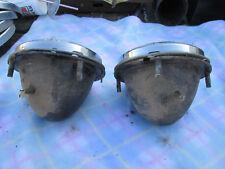 Triumph Spitfire 1962 1963 1964 Headlamp Assemblies Nice Used Pair