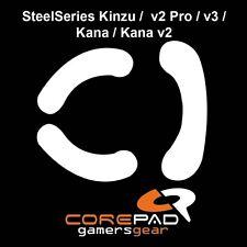 Corepad skatez Steelseries kinzu v2 pro v3 Kana v2 sustituto Teflon ® ratón pies