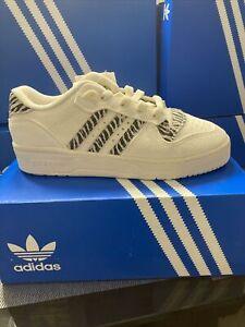 Adidas Women's Rivalry Low W, UK 6 (ZEBRA PRINT)