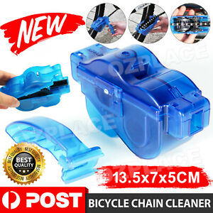 AU Bicycle Chain Cleaner Bike Wash Tool Cycling Scrubber Cleaning Brushes Wheel