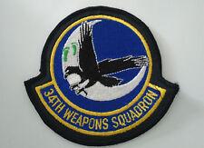 Patch écusson 34TH Weapons Squadron