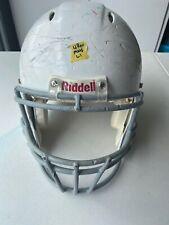 Riddell Revolution Adult Large Football Helmet (Metallic White W/ Gray FM)