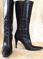 40b0302dab7  189 VIA SPIGA LIV Steel Metallic Designer Open Toe Strappy Heels ...