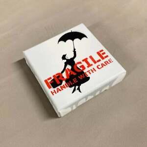 Kunstrasen - Fragile (Mary Poppins) mini Canvas (Ed. of 4)