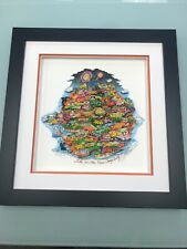 """Charles Fazzino """" Like No Other Place Orange County """" 3-D Art Signed & Numbered"""