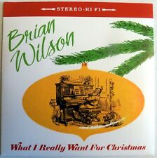 "Brian Wilson - What I Really Want For Christmas - White Vinyl 7"" - 2005 - NEW"