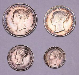 1861 Maundy Money Set  Victoria ®329