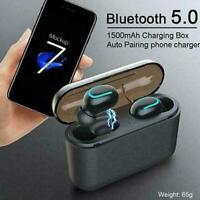 Bluetooth 5.0 Headset Tws Wireless Earphones Twins S1E8 Headphones Stereo B6Y8