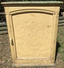 "ORIGINAL ANTIQUE ""DIAMOND DYES"" DISPLAY/SALES CABINET"