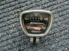 Vintage Schwinn Stingray Bike Speedometer - Original 1970's Bicycle Accessory