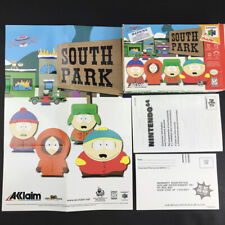 N64 South Park - Box & Poster Only NO GAME NO MANUAL Nintendo 64 Acclaim 1998