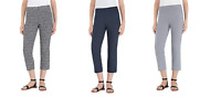 "NEW Hilary Radley Women's Slim Leg Pull On Pant - 23"" Inseam"